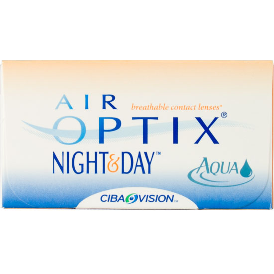 Air Optix Night & Day Aqua Night and Day Linsen 1x6 Monatslinsen - Ciba Vision