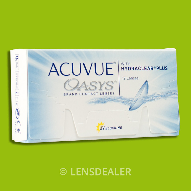 acuvue oasys 1x12 box mit hydraclear plus kontaktlinsen 2 wochen werte ebay. Black Bedroom Furniture Sets. Home Design Ideas